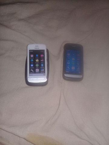 dois celulares Nokia c5 em bom estado  - Foto 3