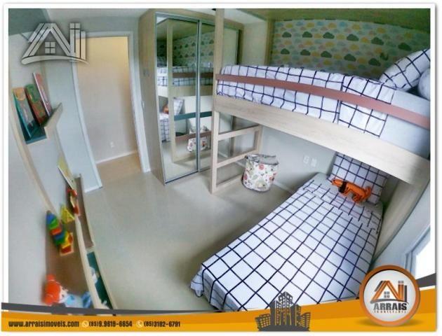 Apartamento com 2 Quartos mais Suite Master à venda no Bairro Benfica - AQUARELA CONDOMÍNI - Foto 9
