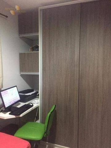 Apartamento com 2 dormitórios à venda, 56 m² por R$ 200.000,00 - Jardim Florianópolis - Cu - Foto 9