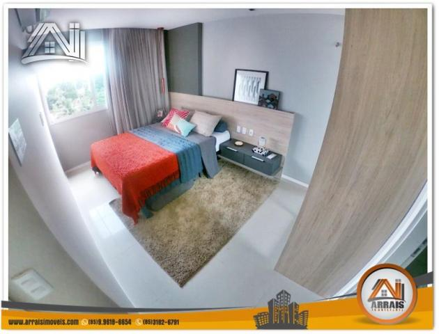 Apartamento com 2 Quartos mais Suite Master à venda no Bairro Benfica - AQUARELA CONDOMÍNI - Foto 11