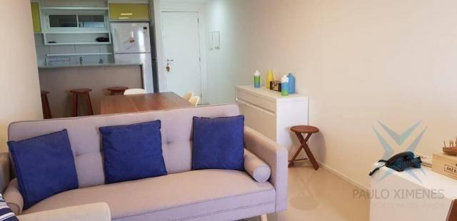 Apartamento Solarium, com 3 dormitórios à venda, 87 m² por R$ 450.000 - Porto das Dunas -  - Foto 4