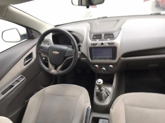 Chevrolet Cobalt ltz 1.4 completo c/ multimídia _ peq entrada + 48x 669,99 fixas - Foto 8