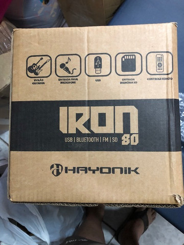 Vendo Caixa Hayonik Multiuso 20W Bluetooth-USB