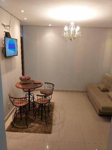 Apartamentos mobiliados NOVO bem localizado no Centro e no Santa Marta - Foto 8