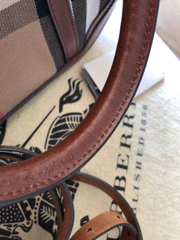 Bolsa Burberry Original Nova Nunca Usada - Foto 5