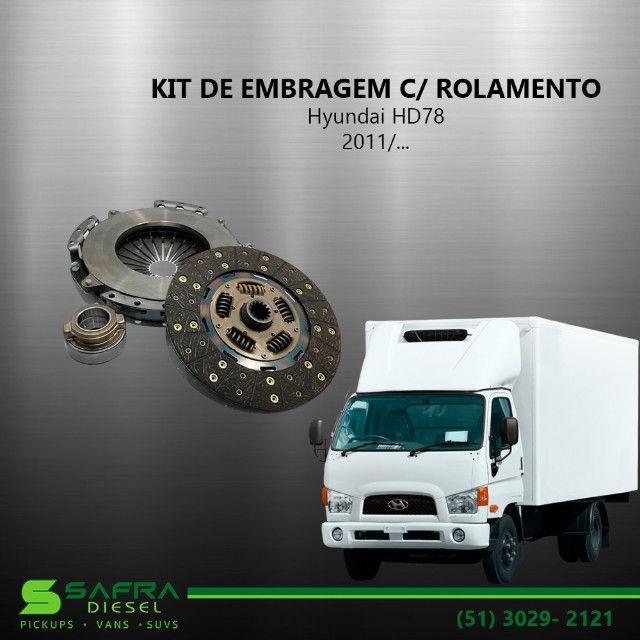 Kit de Embreagem c/ Rolamento Hyundai Hd78