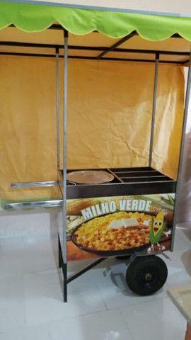 Carrinho de milho Entregamos litoral consulte frete - Foto 5