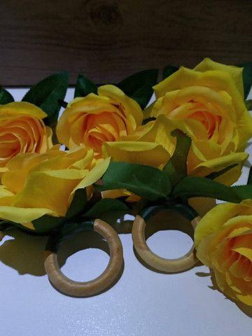 Porta guardanapo flor - Foto 3