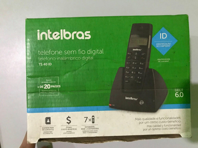 Telefone sem fio Intelbras (SANTA INÊS) - Foto 2