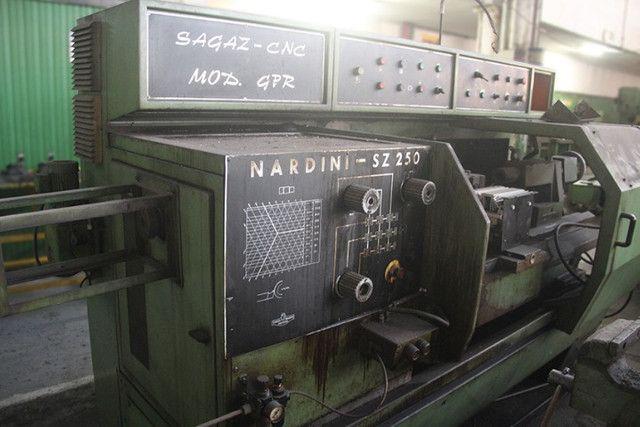Torno Nardini Sagaz CNC mod. Gpr SZ250 ? ML75 Usado - Foto 5