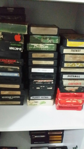 Cartucho para Atari 2600 funcionando perfeitamente  - Foto 3