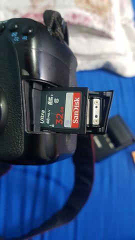 Câmera Canon 60d (corpo e acessórios) - Foto 6
