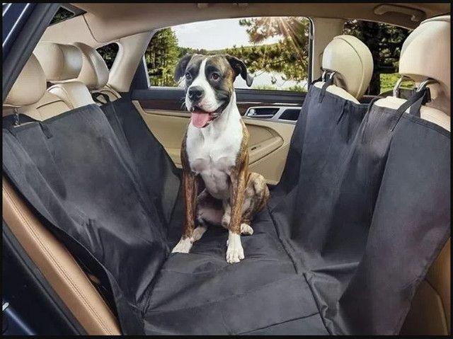 Capa de Proteçao De Banco Para Pet + Cinto de Segurança  - Foto 3