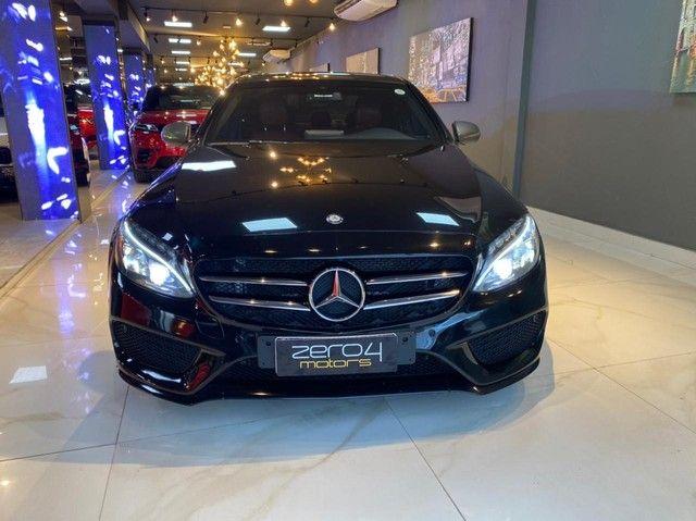 Mercedes C250 Sport, 2015, interior vermelho, blindada nível 3A, configuração Linda  - Foto 3