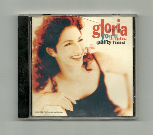 CD - Gloria Estefan -  You'll be mine (party time)