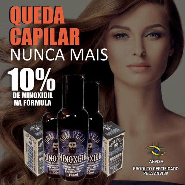 Tônico Capilar Dom Pelo Cresce Barba 120ml Capilar Forte - Foto 6