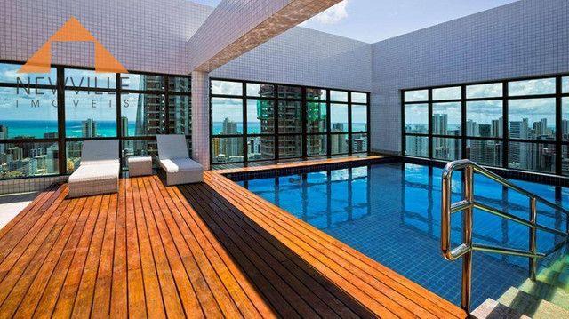 Apartamento com 1 quarto para alugar, 27 m² por R$ 2.995/mês - Boa Viagem - Recife - Foto 15