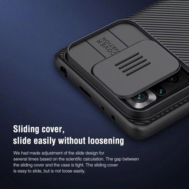 Caso Xiaomi Redmi note 10 c/ proteção da câmera slide - nillkin camshield  - Foto 2