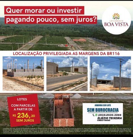 Loteamento as margens da BR-116, 10 minutos de Fortaleza! - Foto 8