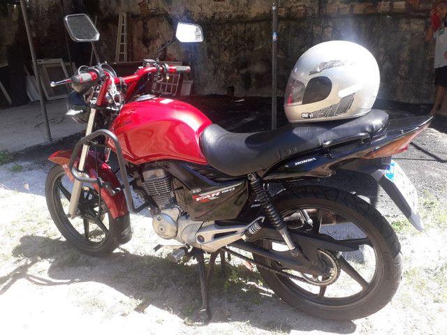 Moto fan 150 cc cg Honda semi nova