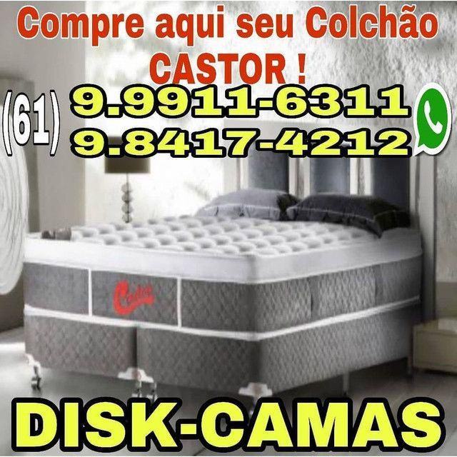 DISK-CAMAS- colchões- cama baú __ cama box baú e acessórios - Foto 2