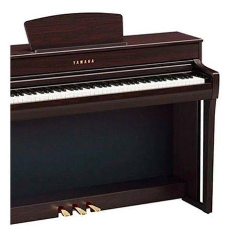 Piano Digital Yamaha Clavinova Clp 735r - Rosewood (Mixer Instrumentos Musicais) - Foto 4