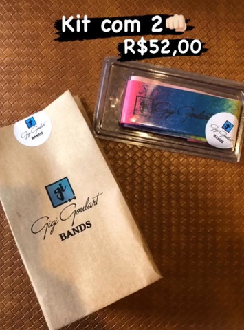 Kit de Mini Bands - nova - excelente material - marca renomada -  - Foto 4