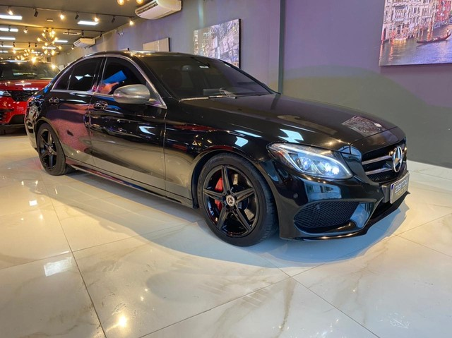Mercedes C250 Sport, 2015, interior vermelho, blindada nível 3A, configuração Linda  - Foto 5