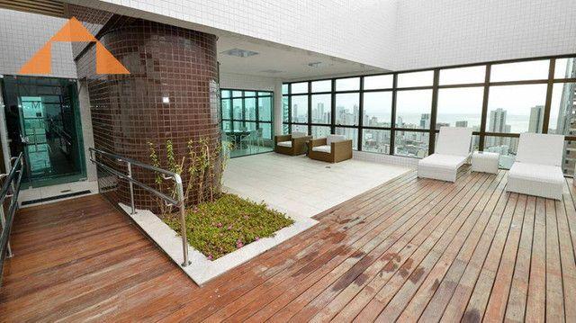 Apartamento com 1 quarto para alugar, 27 m² por R$ 2.995/mês - Boa Viagem - Recife - Foto 14