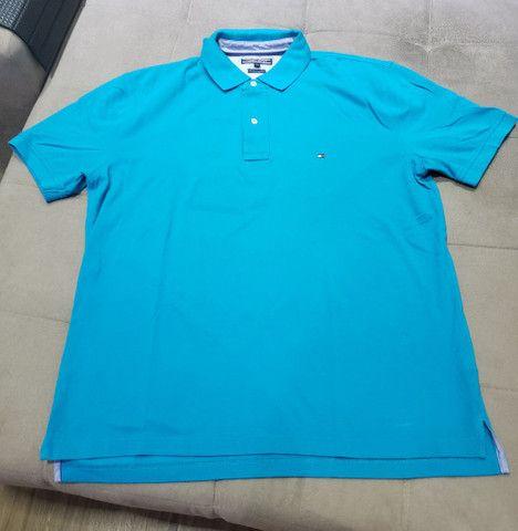 03 camisas Polo Tommy Hilfiger XXL - Foto 2