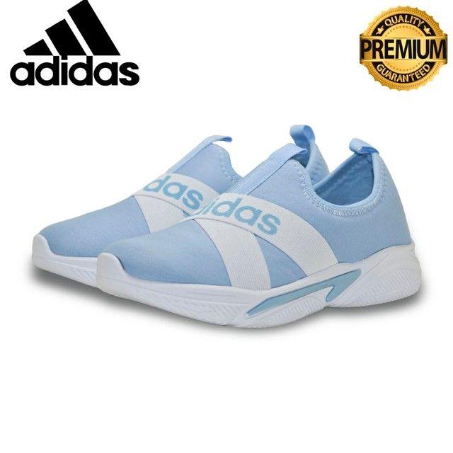 Tênis Adidas Slip  Unissex casual  Excelente Qualidade numeraçao do 34 ao 39  - Foto 4
