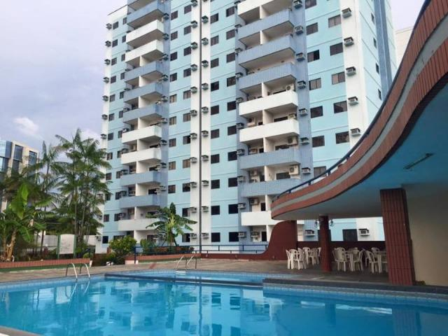 Apto no Vieiralves incluso Condomínio com armários e ar condicionado