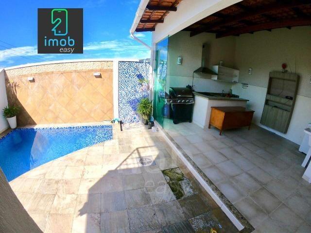 Residencial Tapajós linda casa com 3 suítes piscina e edícula (aceita financiar) - Foto 9