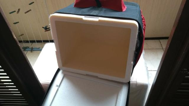 Bag para pizza, quentinha, lanches em geral - Modelo novo Preço Promocional - Foto 4