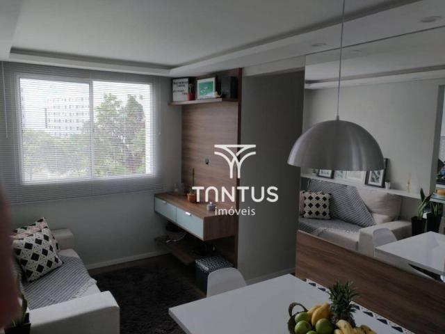Apartamento com 2 dormitórios à venda, 50 m² por r$ 240.000 - pinheirinho - curitiba/pr - Foto 5
