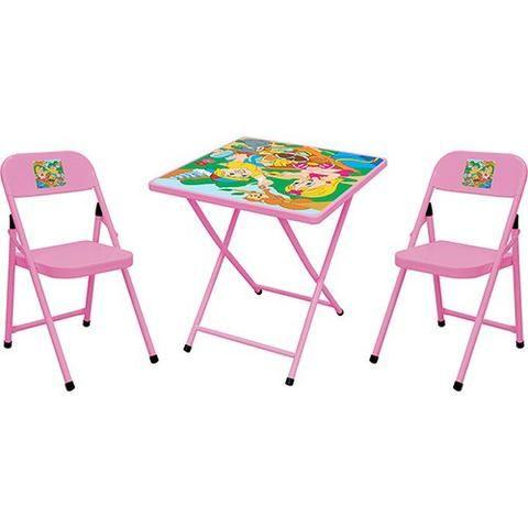 Mesa infantil dobrável com 2 cadeiras *nova na caixa - Foto 2