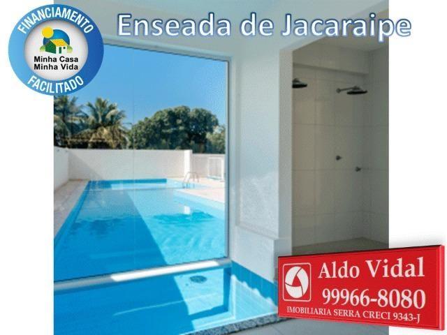 ARV34- Apê Novo em Jacaraipe, 2 quartos com suíte e varanda - Foto 3