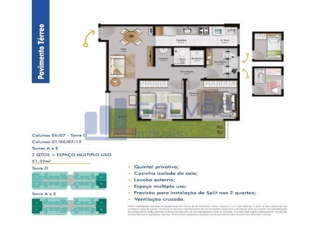 MR- Vista do Horizonte, Apartamentos 2Q e 2Q+1 Multi Uso - Foto 12