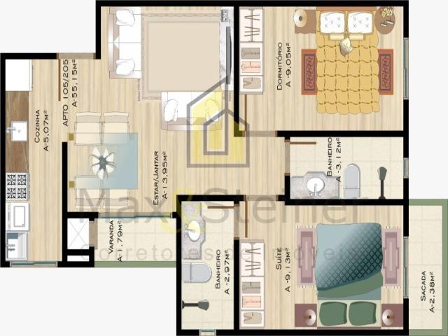 Ingleses& M.E.G.A P.R.O.M.O.Ç.ÃO! Lindo Apartamento Garden, 02 dormitórios (01 suíte) - Foto 18