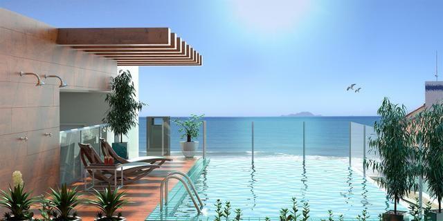 YF- Apartamento frente mar! 01 dormitório! Ingleses/Florianópolis! - Foto 12