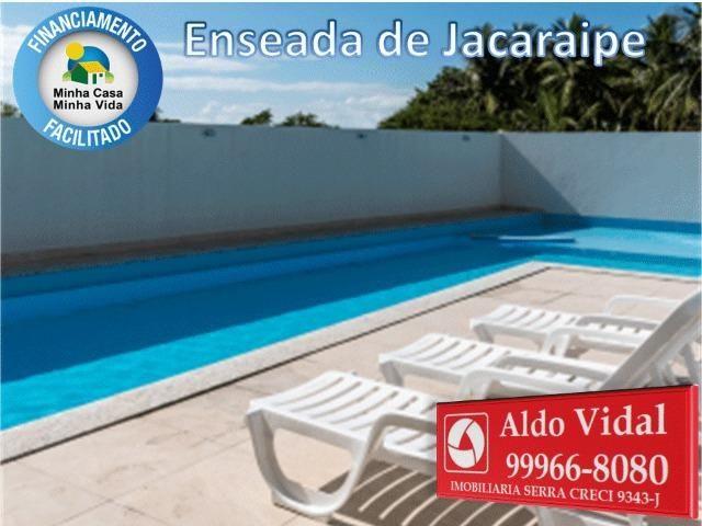 ARV34- Apê Novo em Jacaraipe, 2 quartos com suíte e varanda