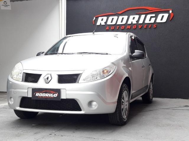Renault Sandero Exp 1.0 - 2010 - Foto 8