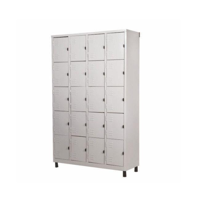 Roupeiro de aço 20 portas, guarda volumes, armário vestiário