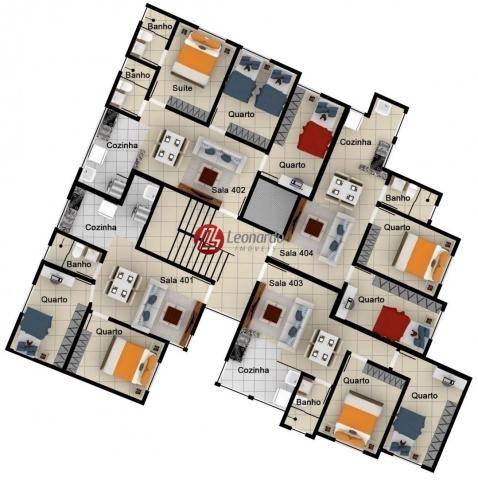 Lançamento Apartamento 2 Quartos no Caiçara - Foto 12
