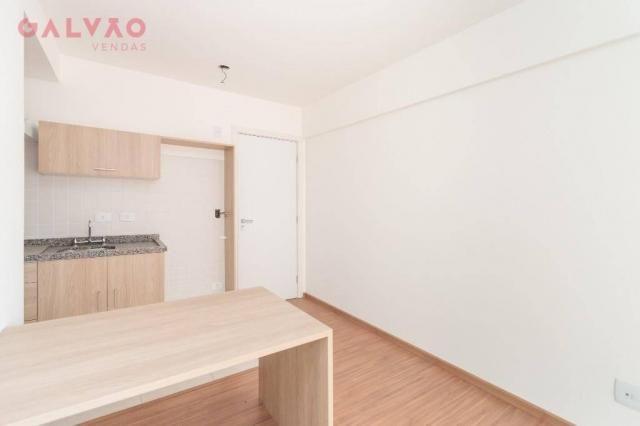 Apartamento com 1 dormitório à venda, 33 m² por R$ 238.156,90 - Centro - Curitiba/PR - Foto 4