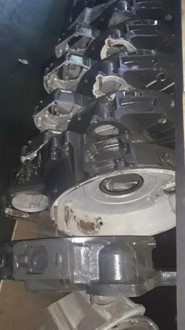 Capa seca do motor scania - Foto 3