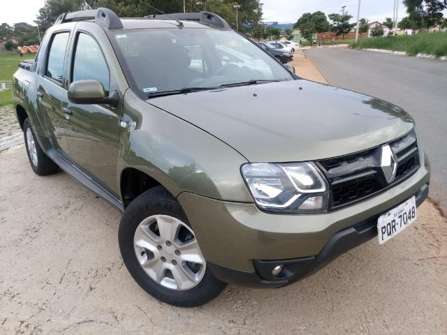 RN Duster Oroch 1.6 Expression Completa Verde 16/17