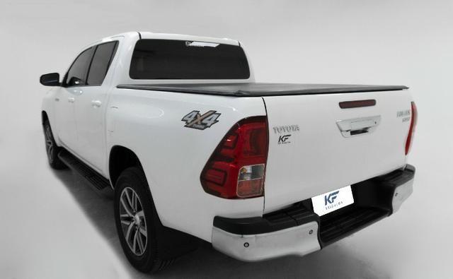 Toyota Hilux 2.8 SRV 2016 Blindado Branco Automático Completo - Foto 3
