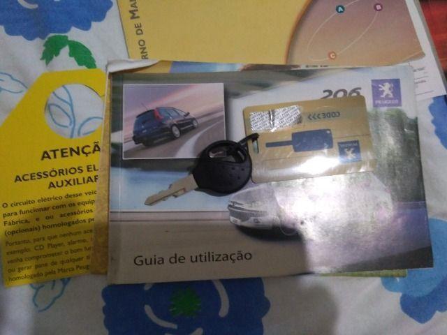 Vendo Peugeot 206 1.6 Feline Top de linha - Foto 20