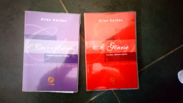 Livro: Allan Kardec A gênese / O céu e o Inferno